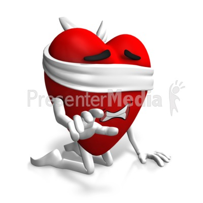 Love Is Blind Idiom Presentation clipart