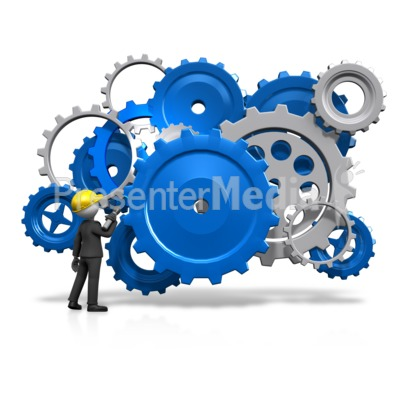 Gears Inspection Check Presentation clipart