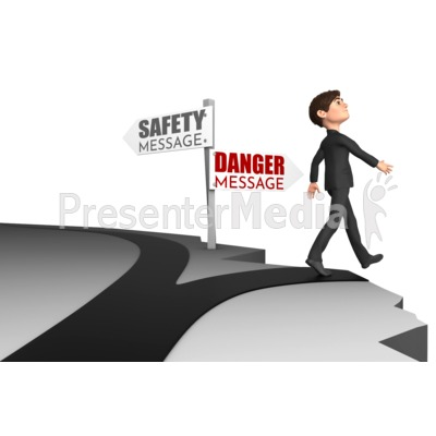 Choose Wrong Way Presentation clipart