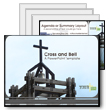 ID# 316 - Cross And Bell - PowerPoint Template