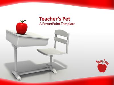 Teachers Pet PowerPoint Template