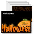 ID# 359 Halloween Text PowerPoint Template