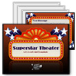 ID# 389 - Superstar Theater - PowerPoint Template