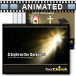 ID# 394 - Light In Darkness - PowerPoint Template