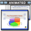 ID# 405 Business Pie Chart PowerPoint Template