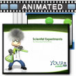 ID# 1812 Scientist Science Experiments PowerPoint Template
