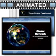 ID# 1835 - Global Network - PowerPoint Template