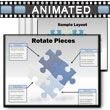 ID# 2240 - Puzzle Piece Tool Kit - PowerPoint Template