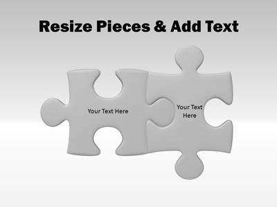 puzzle piece tool kit a powerpoint template from