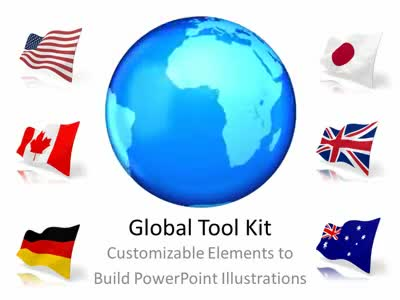 global tool kit a animated powerpoint template from. Black Bedroom Furniture Sets. Home Design Ideas
