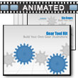 ID# 3756 - Gear Tool Kit - PowerPoint Template