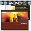 ID# 4468 - Liquid Fire - PowerPoint Template