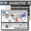 ID# 4584 - Timeline Tool Kit - PowerPoint Template