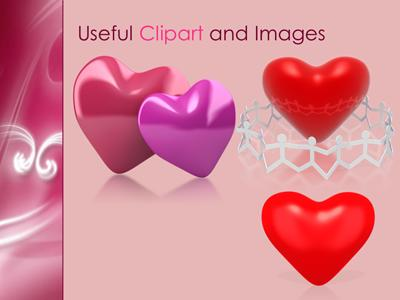Whispered Love PowerPoint template