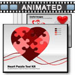ID# 4833 - Heart Puzzle Piece Tool Kit - PowerPoint Template