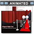 ID# 5678 - Elegant Night Out - PowerPoint Template