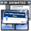 ID# 6286 Skyline Billboard PowerPoint Template