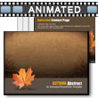 ID# 6352 - Autumn Abstract - PowerPoint Template