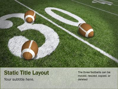 football field a powerpoint template from. Black Bedroom Furniture Sets. Home Design Ideas