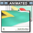 ID# 6497 South Africa Flag PowerPoint Template