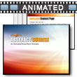 ID# 6596 Abstract Sunrise PowerPoint Template