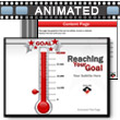 ID# 6664 Reaching Your Goal PowerPoint Template