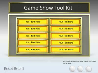 quiz show template powerpoint