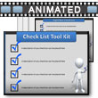 ID# 7203 - Check Box Tool Kit - PowerPoint Template