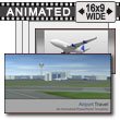 ID# 7242 - Airport Travel - PowerPoint Template