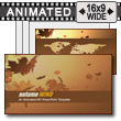 ID# 7254 - Autumn Wind - PowerPoint Template