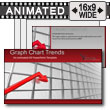 ID# 7324 - Graph Chart Trends - PowerPoint Template