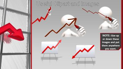 Powerpoint Template Trends Graph Chart Trends Powerpoint