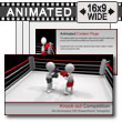 ID# 7337 - Knock Out Competition - PowerPoint Template