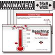 ID# 7383 - Reaching Your Goal - PowerPoint Template