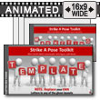 ID# 7419 - Strike A Pose Toolkit - PowerPoint Template