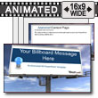 ID# 7421 - Skyline Billboard - PowerPoint Template