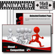 ID# 7426 - Stay Ahead Of Your Competition - PowerPoint Template