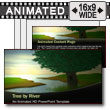 ID# 7450 - River Tree - PowerPoint Template