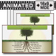 ID# 7451 - Tree Root Growth - PowerPoint Template
