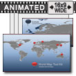 ID# 7479 - World Map Tool Kit - PowerPoint Template