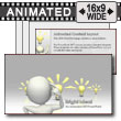 ID# 7527 - Bright Idea - PowerPoint Template