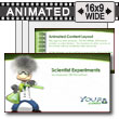 ID# 7574 - Scientist Science Experiments - PowerPoint Template