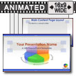 ID# 7591 - Business Pie Chart - PowerPoint Template