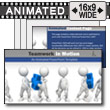 ID# 7905 - Teamwork In Motion - PowerPoint Template