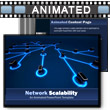 ID# 8249 - Network Scalability - PowerPoint Template