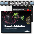 ID# 8768 - Fireworks Celebration - PowerPoint Template