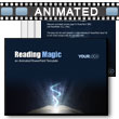 ID# 9073 - Reading Magic - PowerPoint Template