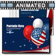 ID# 9469 - Patriotic Vote - PowerPoint Template