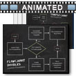 ID# 9511 - Flowchart Doodles - PowerPoint Template