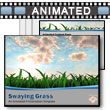 ID# 10311 - Swaying Grass - PowerPoint Template